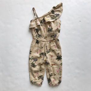 Old Navy jungle print jumper EUC 12-18 months